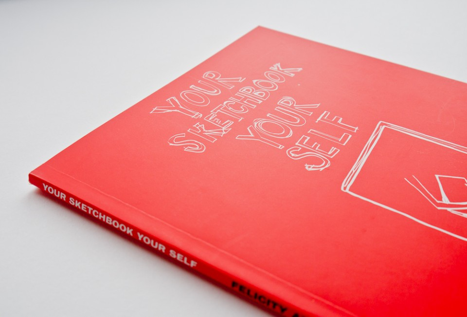 Book design for Your Sketchbook Your Self – Park Studio