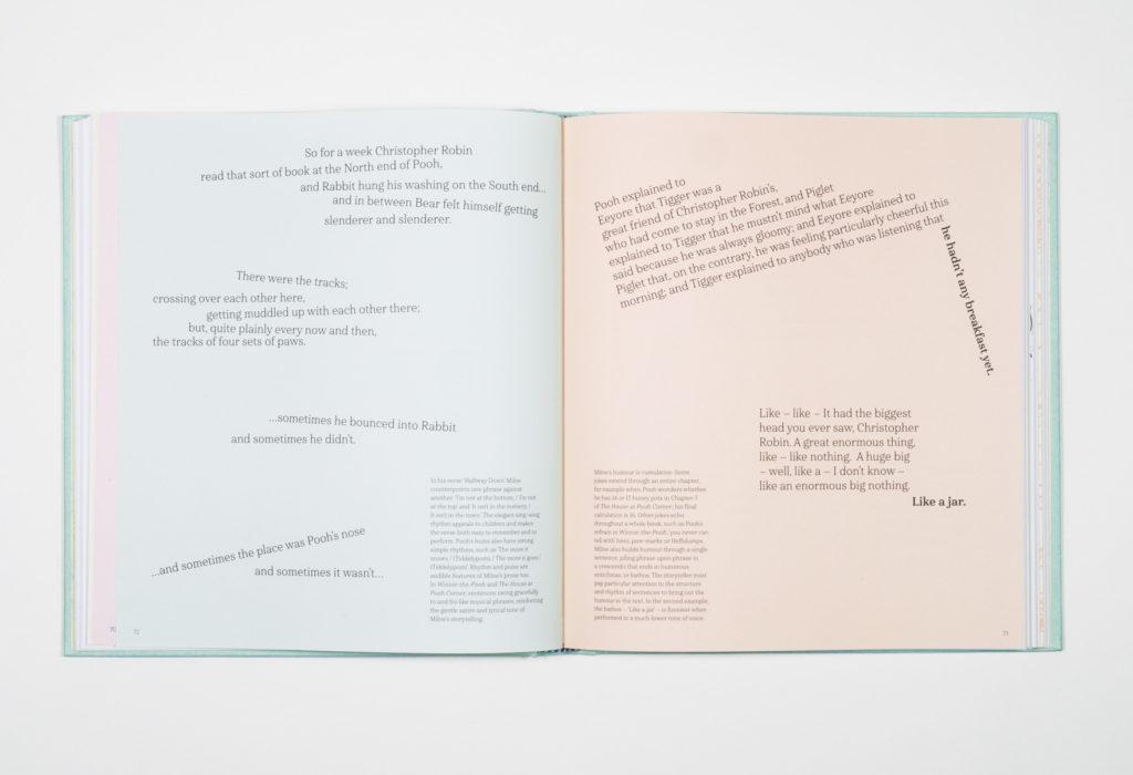 Winnie-the-Pooh book design by Park Studio