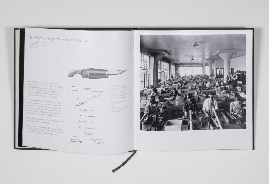 Parker: Heritage & Excellence book design by Park Studio
