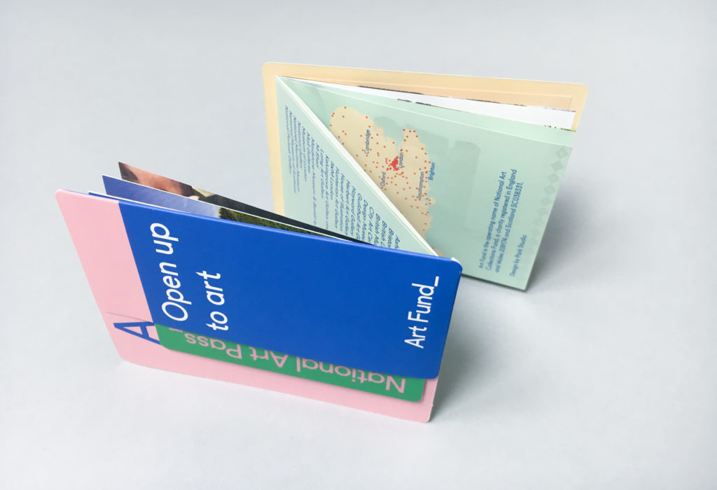 National Art Pass design by Park Studio