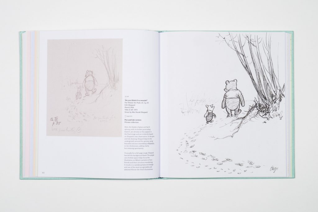 Winnie-the-Pooh book design by Park Studio