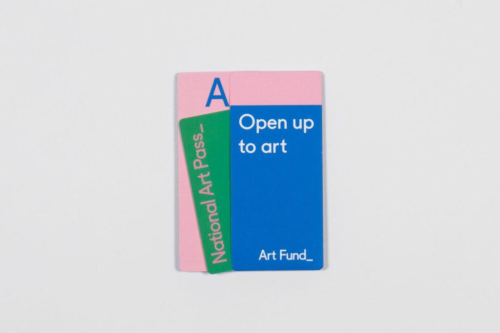 National Art Pass design by Park Studio