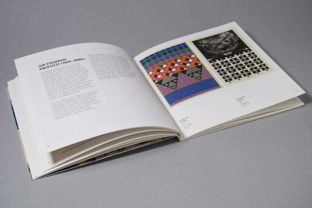 British Council Collection: New Delhi exhibition catalogue designed by Park Studio