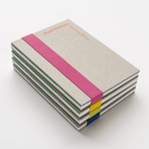 David Batchelor exhibition catalogue design by Park Studio