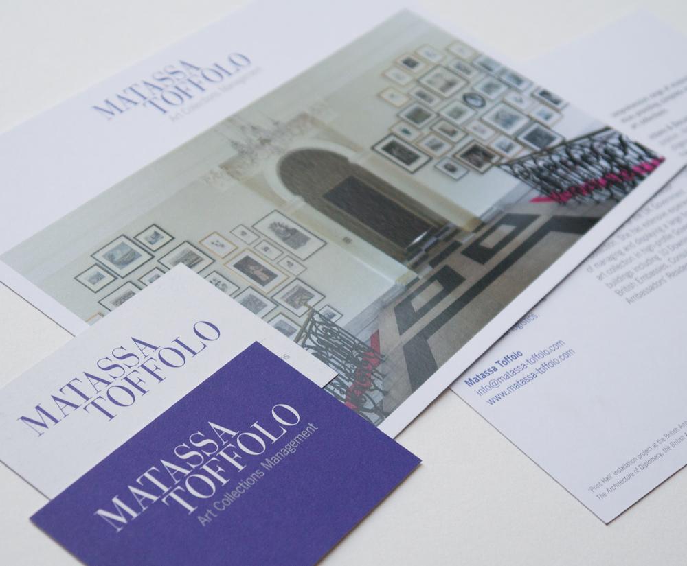 Matassa Toffolo visual identity designed by Park Studio